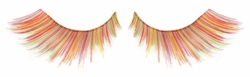 Multi Colored Yellow Rainbow Fake Lashes on Sale- Buy 1 Get 1 Free
