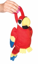 Plush Parrot Handbag for Pirate Costume