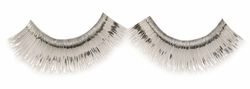 Silver Metallic Eyelashes