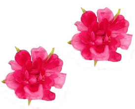 "3"" Spring Flower Hair Clips"