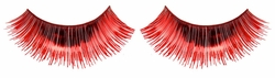 Red Metallic Lashes