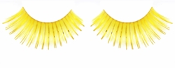 False Eyelashes -Yellow and Gold Lashes