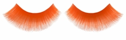 Orange False Lashes