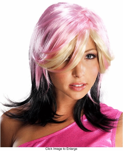 Downtown Modern Multi Color Wig