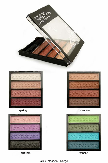 Pressed Eyeshadow Quad from Kleancolor
