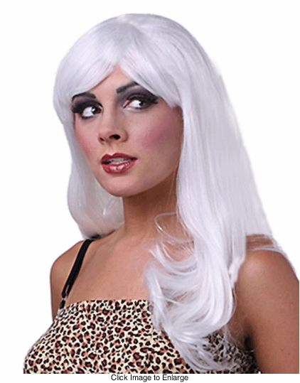 Superstar White Wig