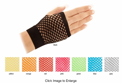 Net Arm Warmer Gloves