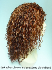 Heat and Styling Friendly 3/4 Curly Wig