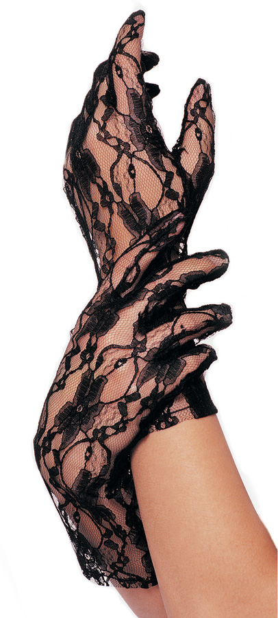 Totally 80's Madonna Lace Gloves