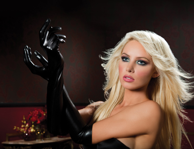 Long Black Gloves