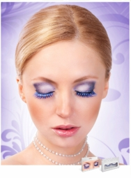 Blue Lashes with Crystal Eyeliner for $7.00