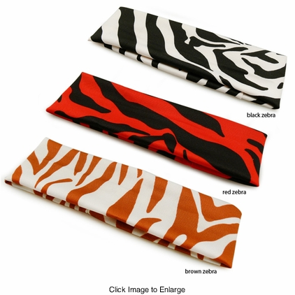 Zebra Print Headband for $2.95