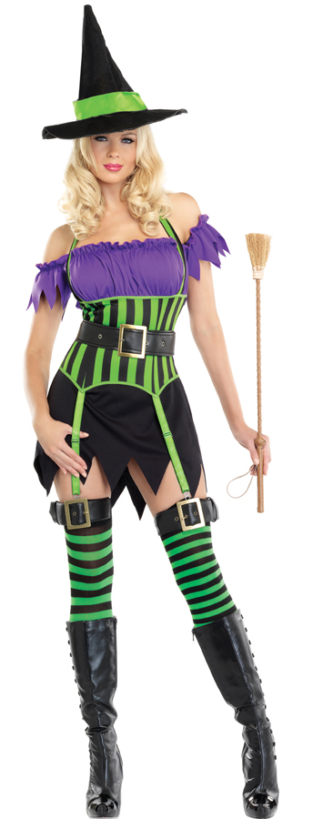Spell Binding Witch Costume