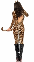 Leopard Leotard Costume