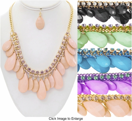 Statement Dangle Necklace