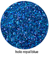 Holo Royal Blue Color of Luxe Glitter Powder for Eyeliner & Eye Makeup