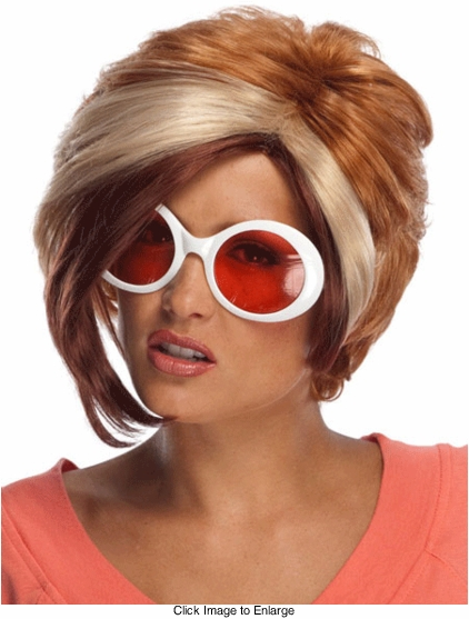 Three Tone Pixie Wig