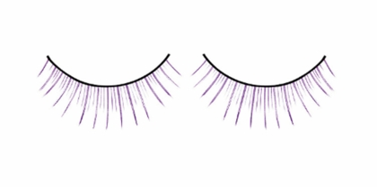 Natural Purple Lashes