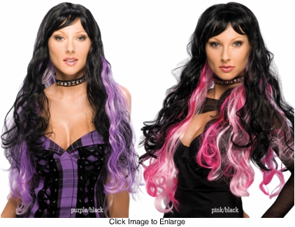 Long Two-tone Fantasy Wig