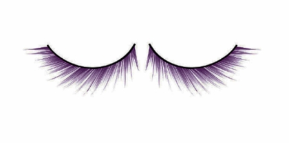 Purple Textured Lashes