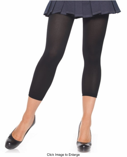 Footless Opaque Tights  Leggings