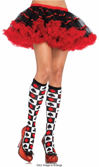 Wonderland Knee Highs for $6.99