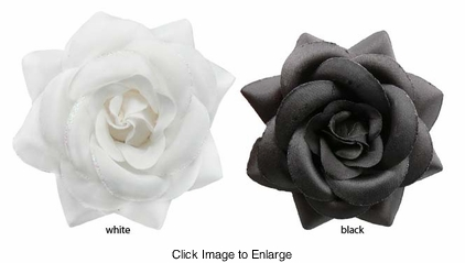 "3.5"" Perfect Wedding Flower Hair Clip"