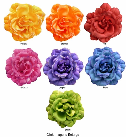 "Gorgeous 4.5"" Flower Hair Clip"