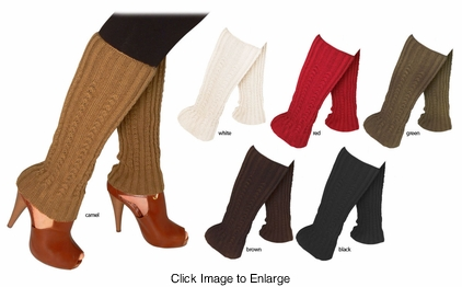 Luxe Knit Leg Warmers