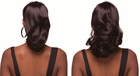 "15"" Long Reversible Drawstring Hairpiece"