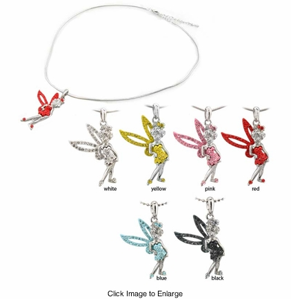 Cute Crystal Fairy Necklace