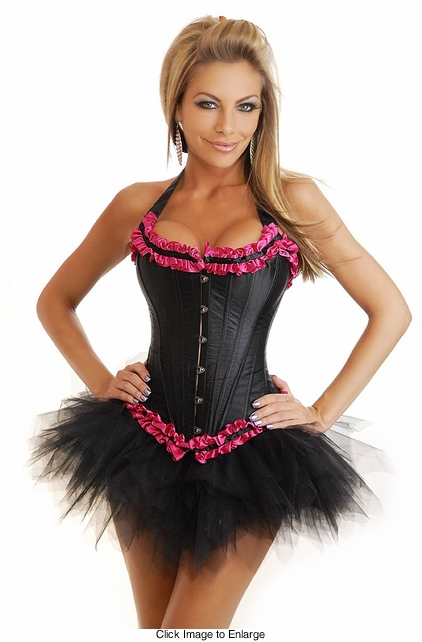 Retro Usherette Corset and Pettiskirt