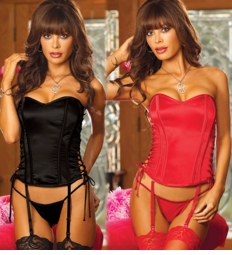 **SALE  Loni Corset with Side Lace-Up