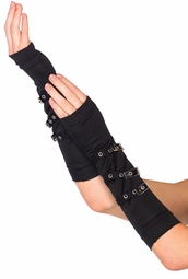 Arm Warmers with Buckles