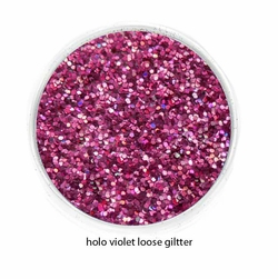 Holo Violet Pink Color of Luxe Glitter Powder - Eyeliner & Eye Makeup