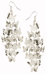 "4"" Butterfly Dangle Earrings"
