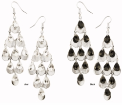 "4"" Dangle Tear Drop Earrings"