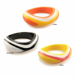 "1.15"" Multi Color Swirl Bracelt"