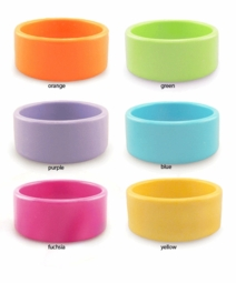 "1.15"" Acrylic Bracelet in Neon Colors"