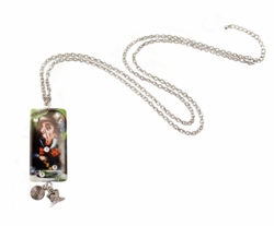 "2.5"" Mad Hatter Domino Necklace"