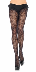 Flower Net Pantyhose