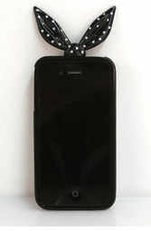Black Bandanna Silicone iPhone Cover