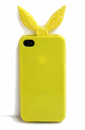 Yellow Bandanna Silicone iPhone Cover