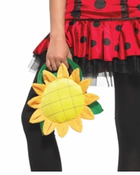 Costumes-Yellow Flower Plush Purse