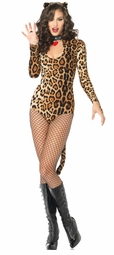 Wicked Wildcat Teddy Leotard Costume