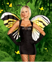 Mod Butterfly Costume