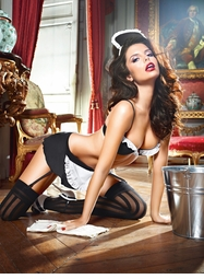 French Maid Fantasy Lingerie Costume