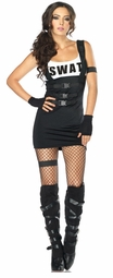Sultry SWAT Team Police Officer Costume