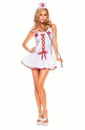 3-Piece Nurse Costume