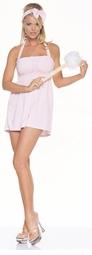 Bubble Bath Girl Terrycloth Halter Costume